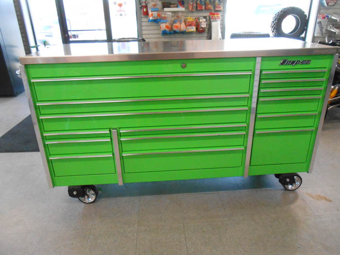 Snap-On roll cab triple bank 19 drawer tool chest Fort Dodge