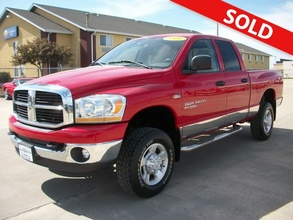 2006 Dodge Ram 2500 Big Horn SLT Quad Cab 4x4