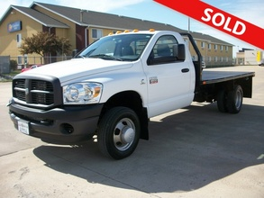 2007 Dodge Ram 3500 Regular Cab Dually Flat Bed 4x4