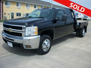 2008 Chevrolet Silvarado 3500 HD Crew Cab Dually Flat Bed 4x4
