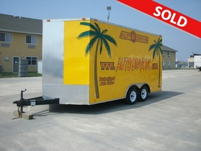 2009 Diamond Cargo Enclosed Trailer 18.5'